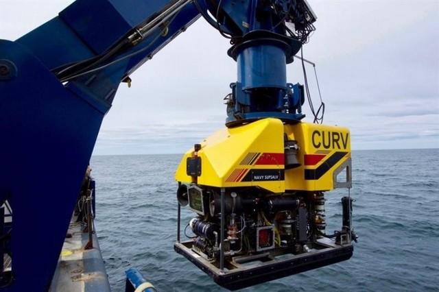 Objetos a 833 y 940 metros de profundidad no son el submarino argentino