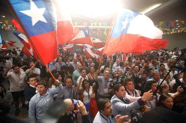 Sebastián Piñera, virtual ganador de las elecciones presidenciales chilenas
