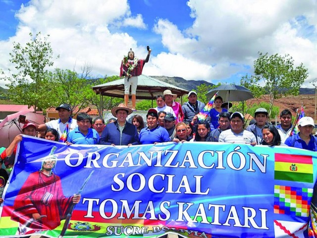 Quila Quila recuerda la muerte de Tomás Katari