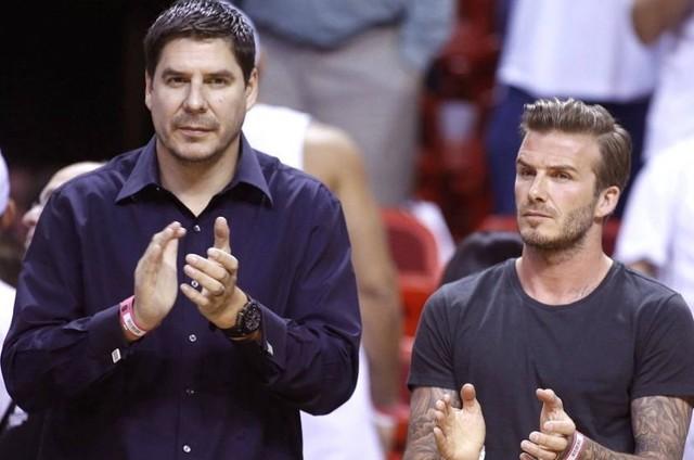David Beckham, socio de Claure, lanzará un equipo de fútbol de la MLS para Miami