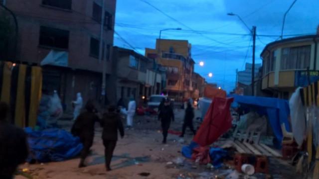 Nueva explosión causa alarma en Oruro y se reporta víctimas