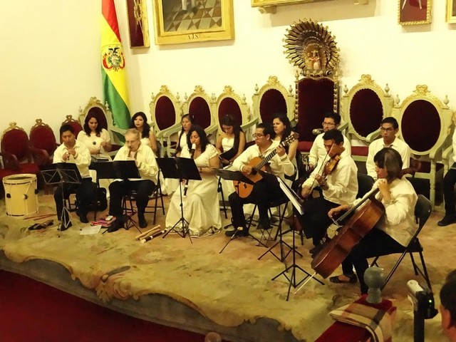 Festival barroco se constituye en tradición local