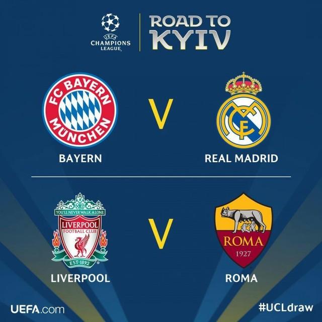 Champions: Bayern Munich y Real Madrid disputarán pase a la final