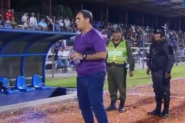 Nacional Potosí: Do Santos agrede a DT Malvestiti y espera decisión de directiva