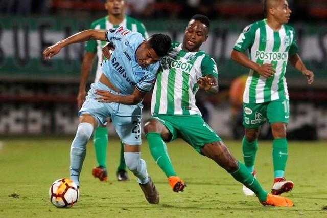 Atlético Nacional goleó 4-1 a Bolívar por la Copa Libertadores