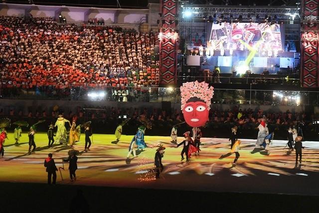 Ceremonia folclórica abre los XI Juegos Suramericanos 2018