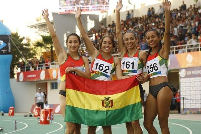 Bolivia suma una medalla de plata en carrera de posta