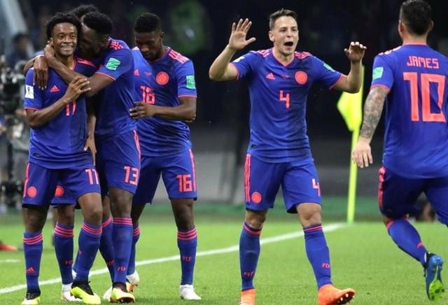 Colombia golea a Polonia y mantiene vivo el sueño en Rusia (0-3)