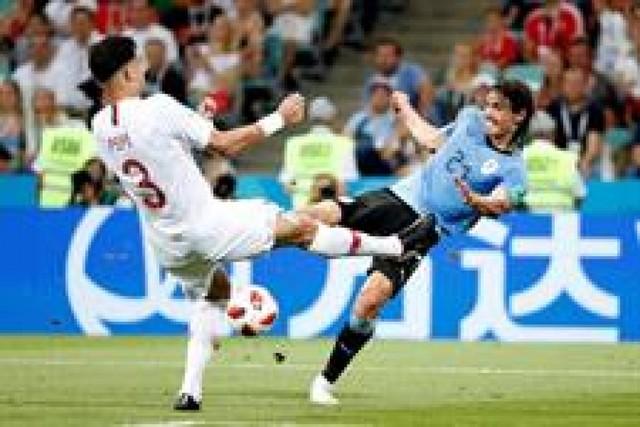Uruguay le gana a Portugal y pasa a cuartos de final