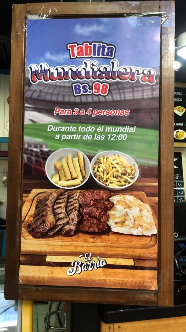 La fiebre del Mundial en los sectores tecnológico y gastronómico de Sucre