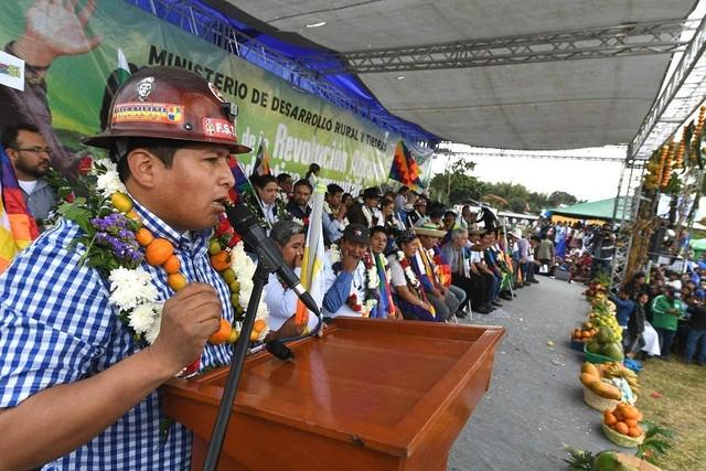 COB proclama a Morales como candidato presidencial de cara a las elecciones del 2019