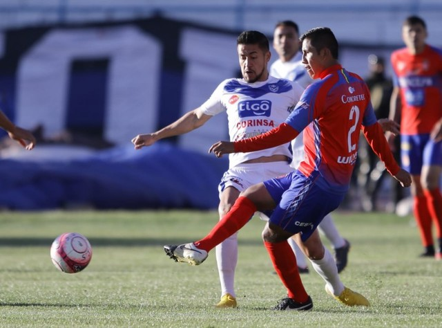 Universitario cae en Oruro 3-0