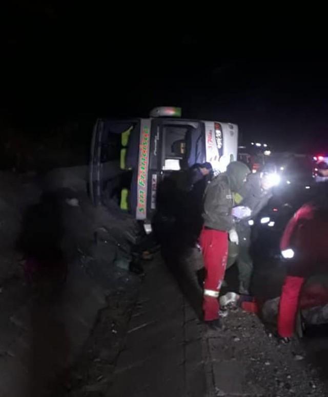 Accidente en la ruta Sucre-Potosí deja al menos cuatro fallecidos