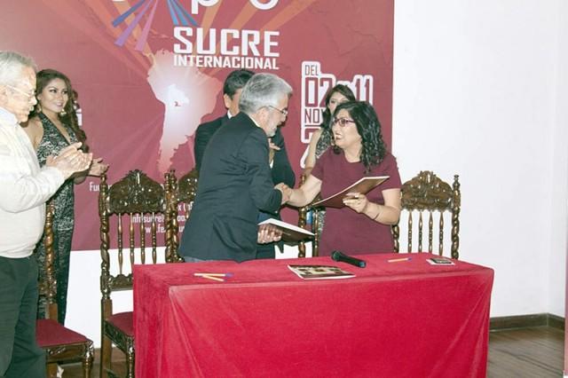 Firma ratifica la presencia de repositorios en Fexpo