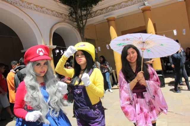 Cultura japonesa  encantó a los más jóvenes en el FIC