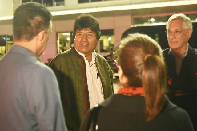 Morales asistirá a la lectura del fallo de la demanda marítima en La Haya