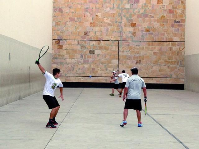 Fiesta de raquetas