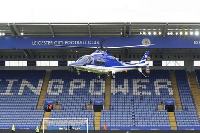Se estrella el helicóptero del dueño del club Leicester City