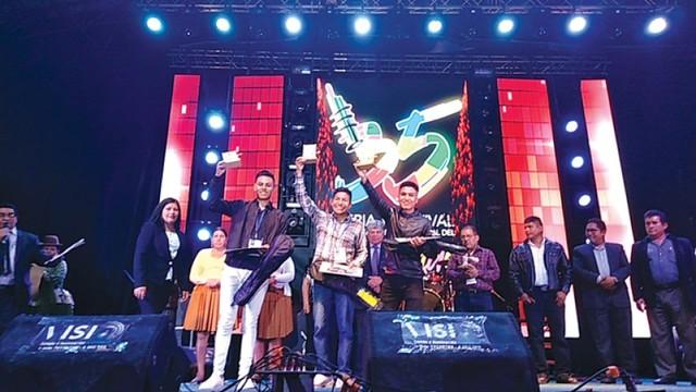 Oro y plata para Sucre en  el Festival del Charango
