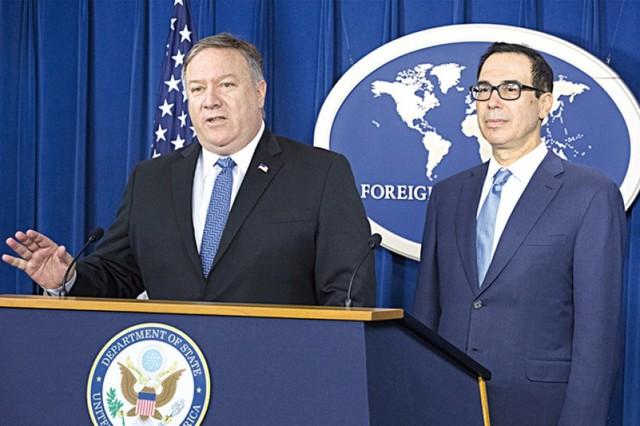 EEUU exime a ocho países de sanciones en contra de Irán