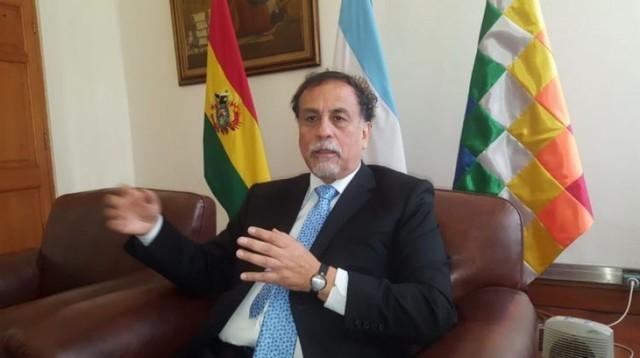 Embajador argentino: El Ministro estará pensando en lo que significa ejecutar garantías