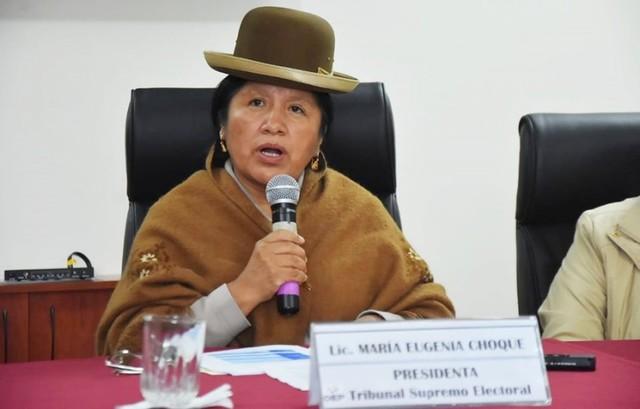 Presidenta del TSE dice que no es su competencia suspender las primarias