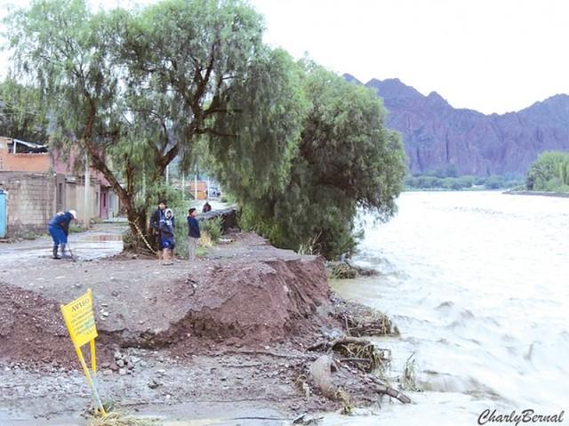Encienden alarmas en el país por precipitaciones