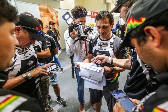 """No hay marcha atrás; """"Chavo"""" Salvatierra queda fuera del Dakar 2019"""