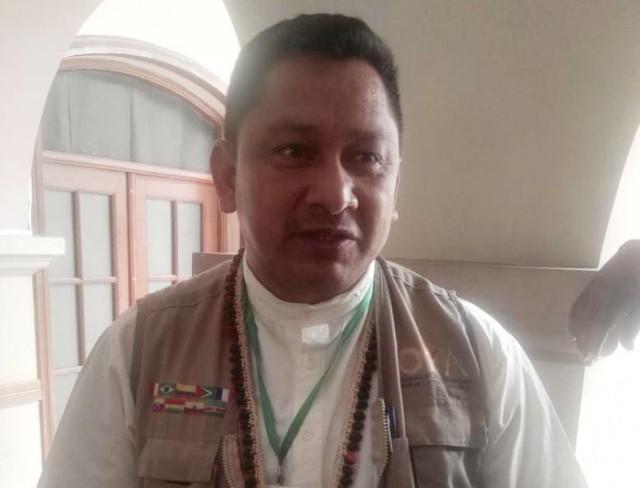 Ex líder indígena Adolfo Chávez denuncia vulneración de derechos ante la CIDH