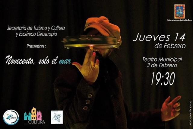 """""""Novecento, solo el mar"""", vuelve a resonar en Sucre"""