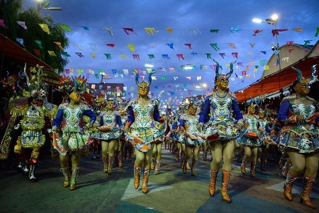 Determinan prohibir campaña política en el Carnaval de Oruro