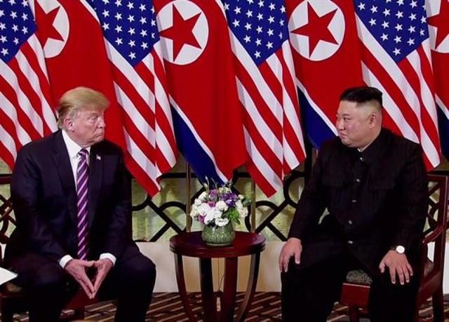 Trump y Kim comienzan con optimismo su segunda cumbre