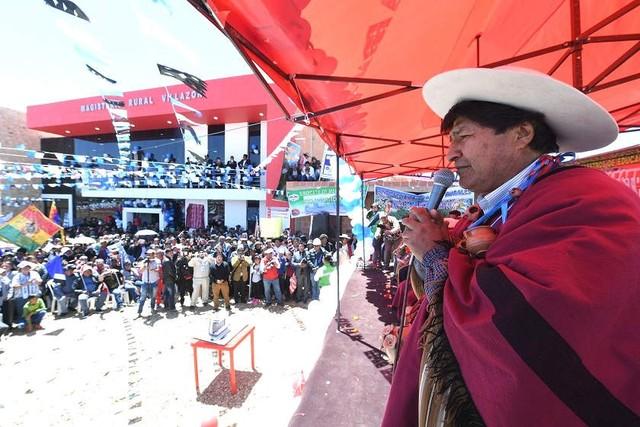 """Morales acusa a EEUU de usar """"armas cibernéticas"""" para castigar a Venezuela"""