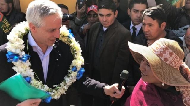 """García Linera pide a Chapetón y Patzi """"ablandar su corazón"""" y sumarse al SUS"""