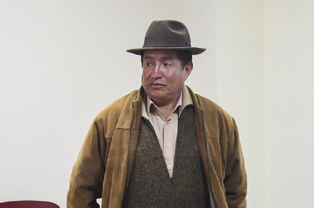 Dictan a Rafael Quispe detención domiciliaria para los fines de semana