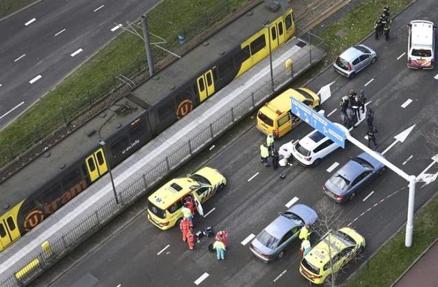 Holanda: Al menos tres muertos y nueve heridos en tiroteo de Utrecht