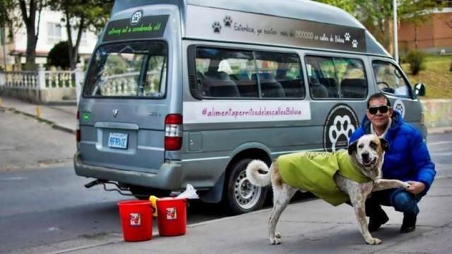 """""""He renunciado a todo por mis perros""""; el hombre que dejó su trabajo para alimentar perros"""