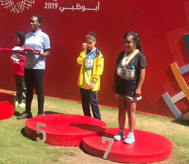 Chuquisaqueña logra medallas en Juegos de Olimpiadas Especiales