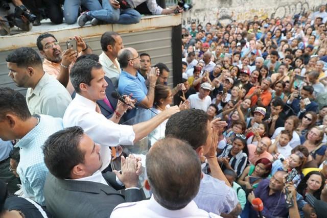 Supremo pide levantar la inmunidad de Guaidó