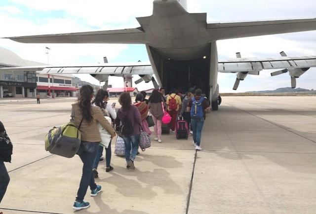 Vuelos solidarios a Monteagudo se cumplen con éxito