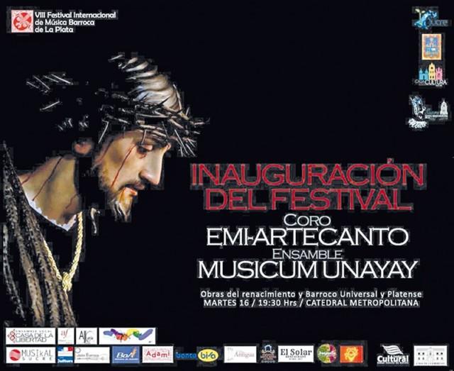 Festival de música barroca llega con la Semana Santa