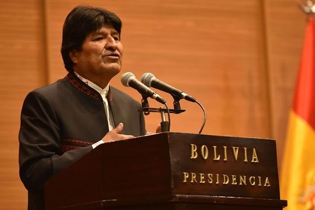 """Evo fustiga al Senado de EEUU y dice que Bolivia le puede  enseñar """"dignidad"""""""