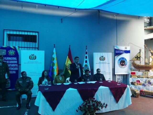 Censo carcelario se desarrolla en Chuquisaca