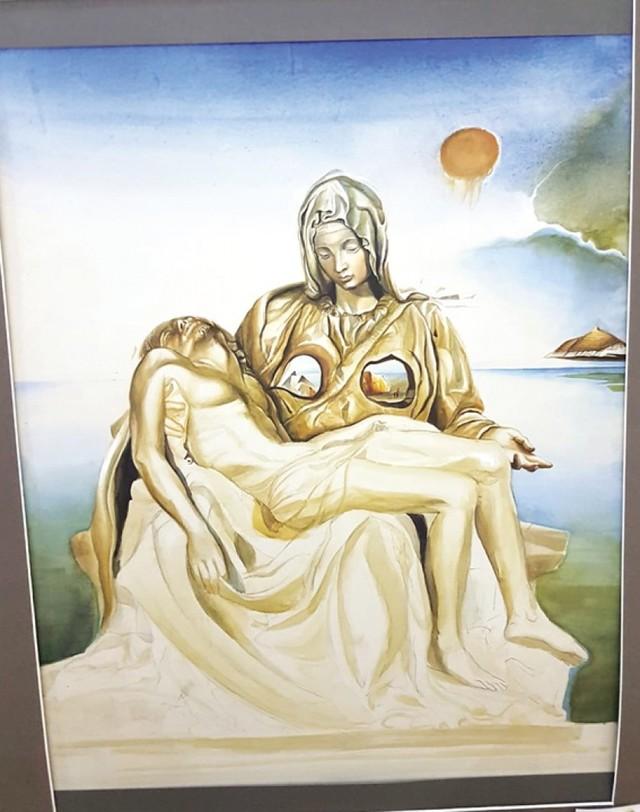 """Arte sacro busca """"reencuentro interno"""""""
