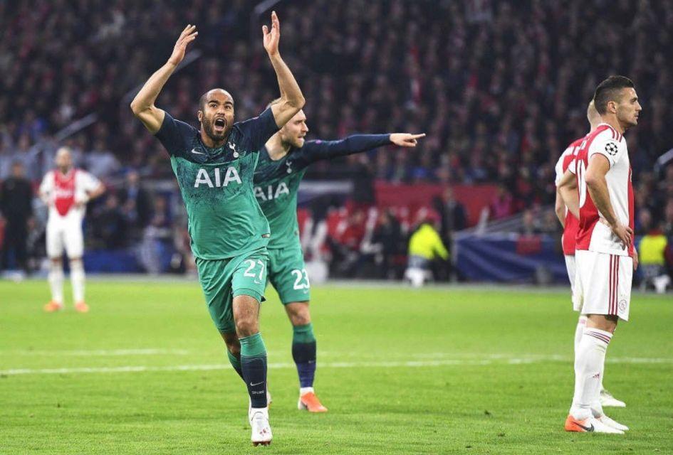 Tottenham remonta y se clasifica para la final con tres goles de Lucas