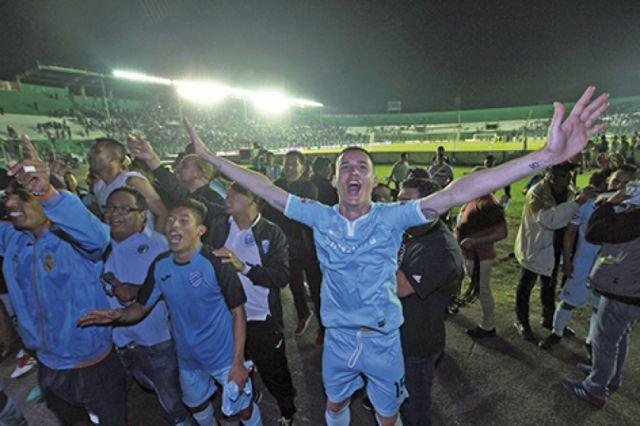 Bolívar apunta a festejar en el clásico