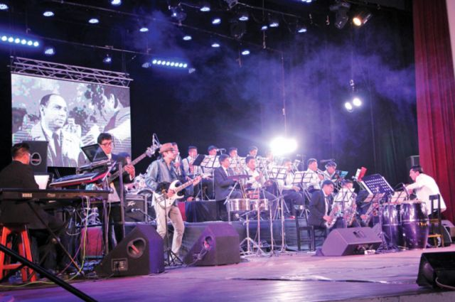 Primer gran concierto de Sucre Big Band Jazz