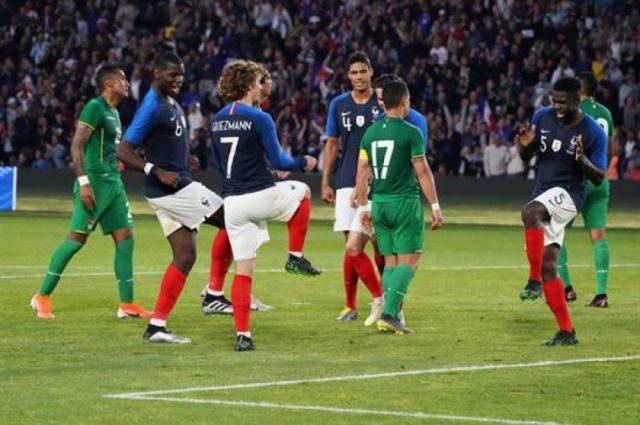Bolivia cayó 0-2 ante Francia en un discreto partido