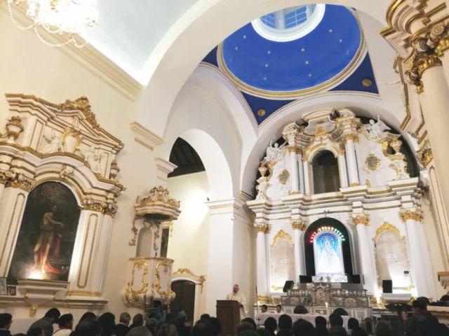 Entregan Capilla de la Virgen de Guadalupe