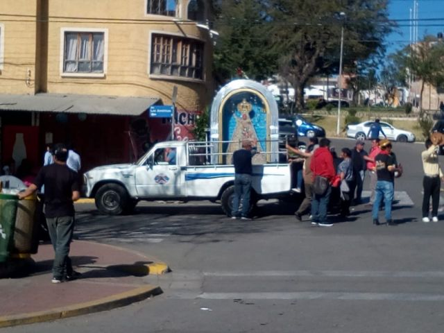 Se cancela lanzamiento de la Entrada de la Virgen de Guadalupe y hay protestas